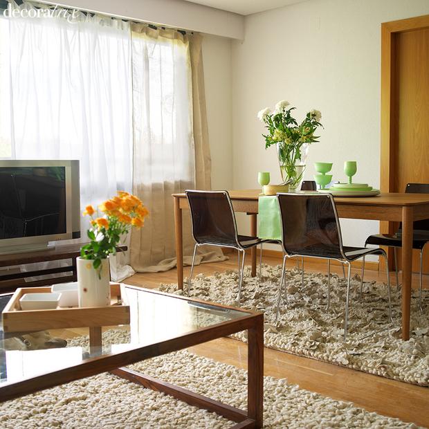 cómo decorar y aprovechar un salón pequeño