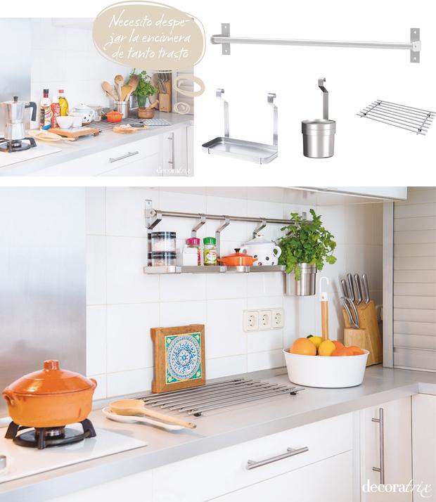 Ideas para ordenar la cocina basado en hechos reales - Mueble encimera cocina ...