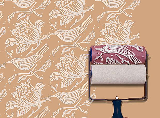 Rodillos para pintar las paredes con textura - Dibujos para decorar paredes de dormitorios ...