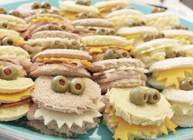 Sandwiches monstruosos