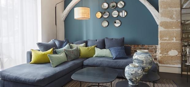 Como Elegir Los Cojines Para El Sofa