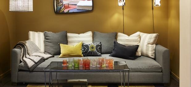 C mo elegir los cojines para el sof Sofas beige con cojines