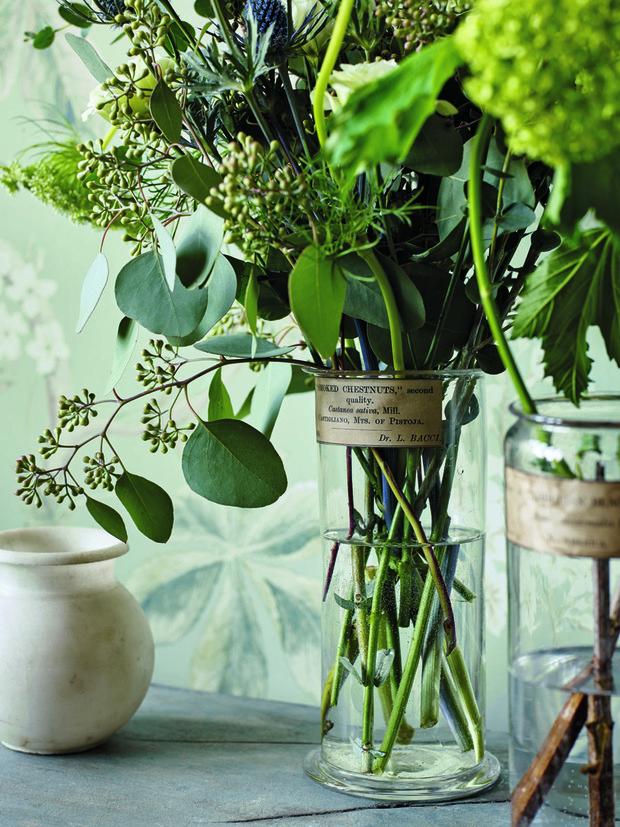 10 Arreglos Con Hojas Ramas Y Flores Silvestres