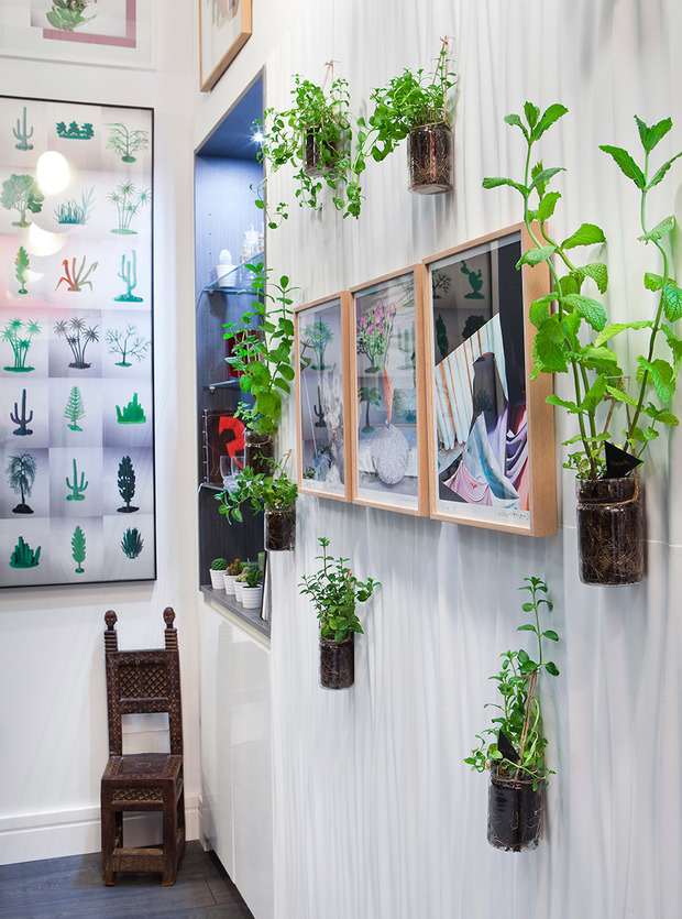 Decorar con plantas est de moda for Decoracion con plantas sinteticas