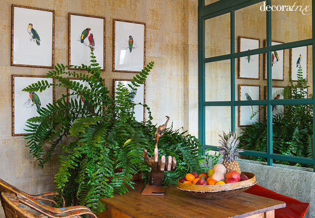 Decorar con plantas est de moda for Casas decoradas con plantas naturales