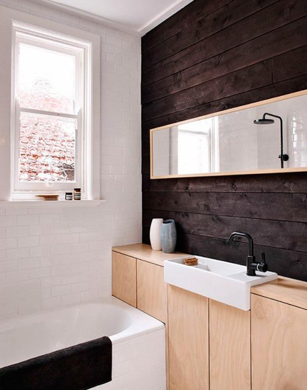Muebles de lavabo diferentes para ba os modernos - Mueble bano estrecho ...