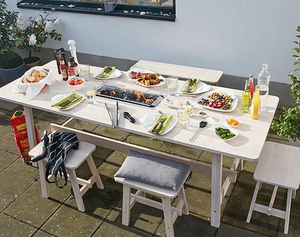 Desayunos y cenas al aire libre ep logo de verano - Mesa para barbacoa ...