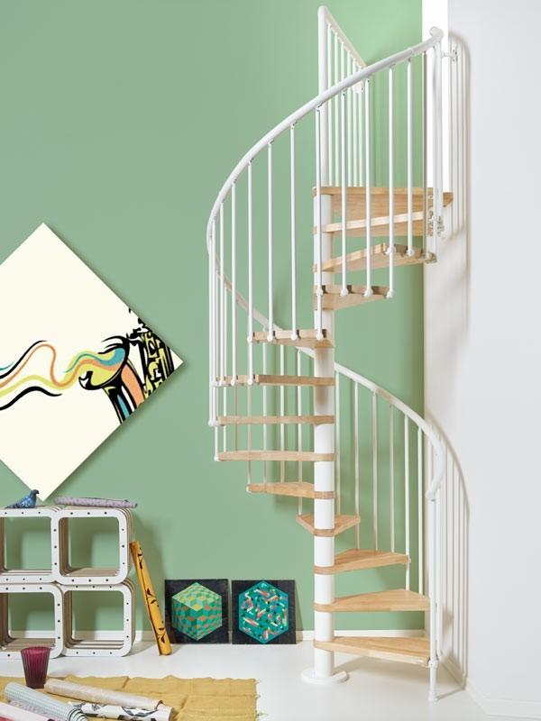 Escaleras De Caracol Para Interior Y Exterior - Escaleras-de-caracol