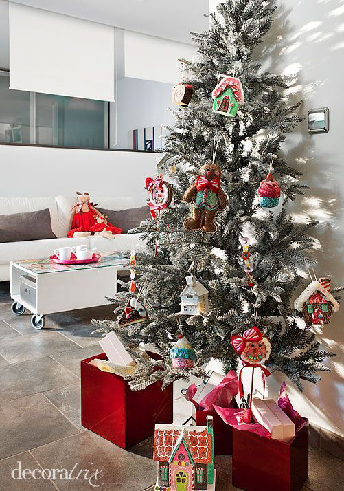 Decoraci n navide a para apartamentos diminutos - Decoracion navidena para oficinas ...