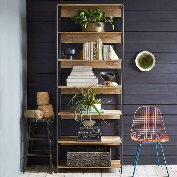 Estanter as para menaje libros y adornos - Estanterias en madera ...