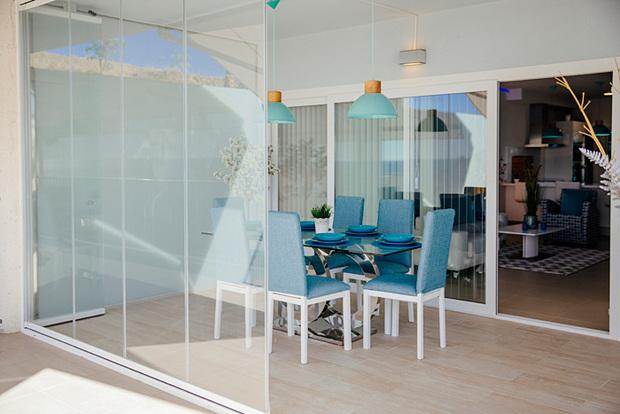 Cerramiento para terrazas con cortinas de cristal - Puertas para terrazas ...