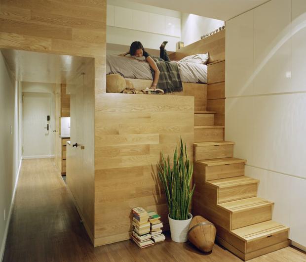 Merveilleux Escalera Con Cajones