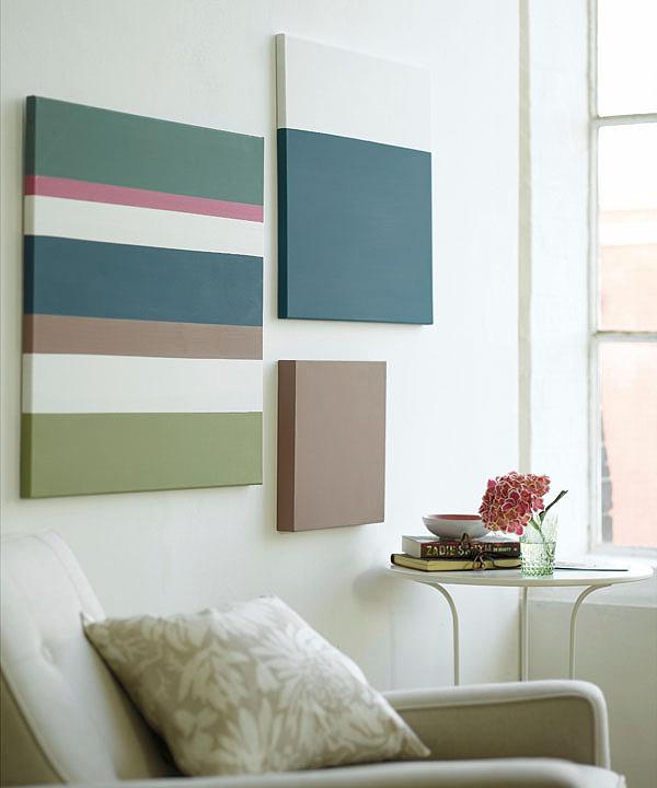 7 ideas para decorar la pared con pintura - Pintar paredes ideas ...