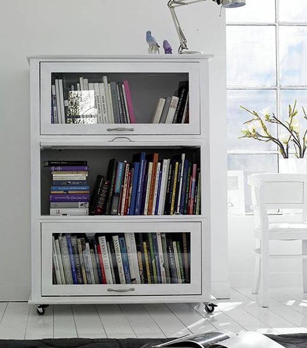 Librerías Modulares Con Frentes De Cristal