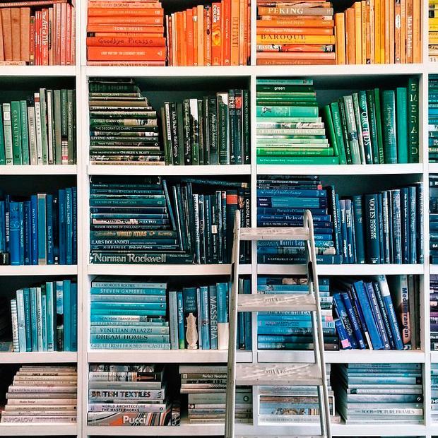 7 formas diferentes de decorar la librería