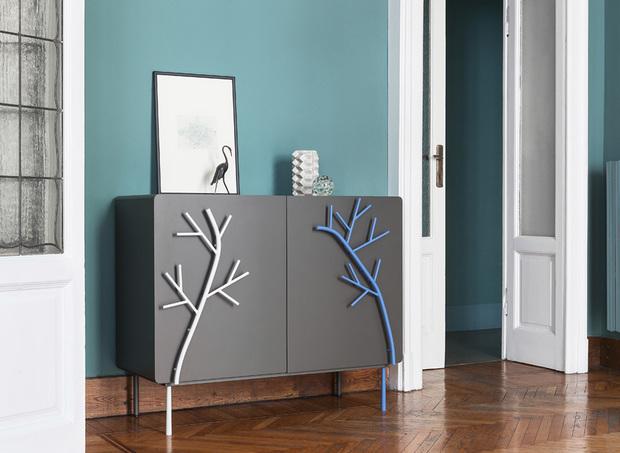 Muebles laqueados de la colección Rami de Skitsch