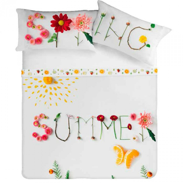 "Colcha ""Summer"" Reversible"