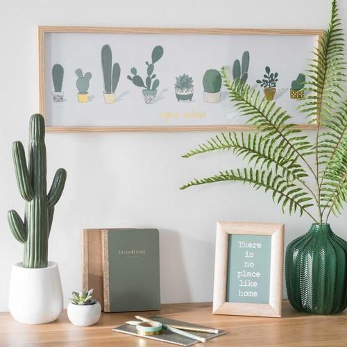 decorar con cactus est de moda. Black Bedroom Furniture Sets. Home Design Ideas
