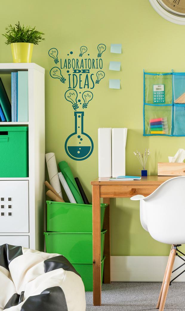 Ideas para decorar dormitorios juveniles - Vinilos pared juveniles ...