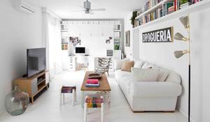 Un piso con firma de arquitecto for Decoracion pisos pequenos modernos