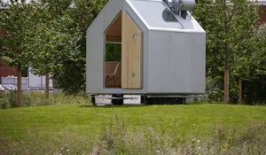 Casa de 15 m2 para montar el fin de semana for 2 piani piano cabina storia