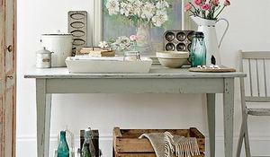 El encanto de lo viejo vintage y retro arrasan en decoracin