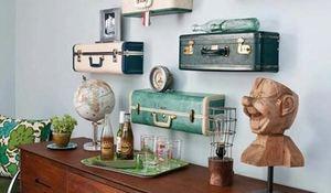 Ideas Alrededor Para Reciclar Cualquier Objeto Y No Tires Nada - Objetos-reciclados-para-decorar