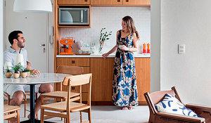 Un piso de 90 m2 con decoraci n r stica urbana - Coste reforma integral piso 90 metros ...