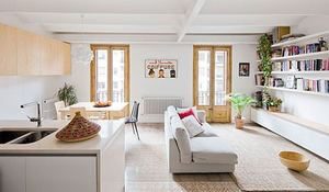 Ladrillo visto en interiores apartamento moderno de 90 m2 - Coste reforma integral piso 90 metros ...
