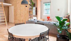 Pisos peque os 10 ideas para aprovechar los metros disponibles - Reforma integral piso 80 metros cuadrados ...