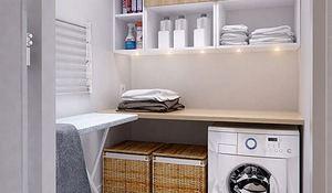 Ideas para mantener el orden en las zonas de lavado y plancha