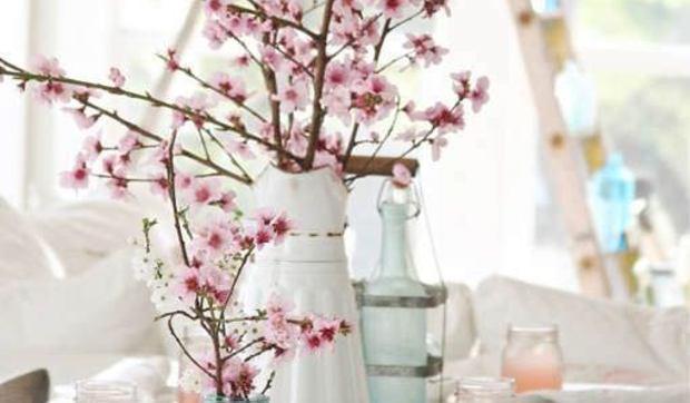 Cuadro Rama De Almendro En Flor