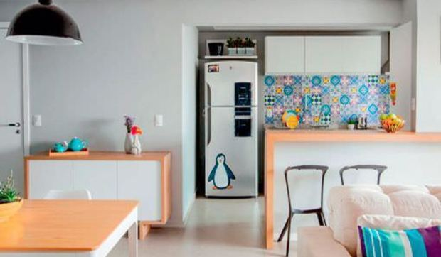 Apartamento de 90 metros con una decoraci n moderna y pr ctica for Decoracion apartaestudios