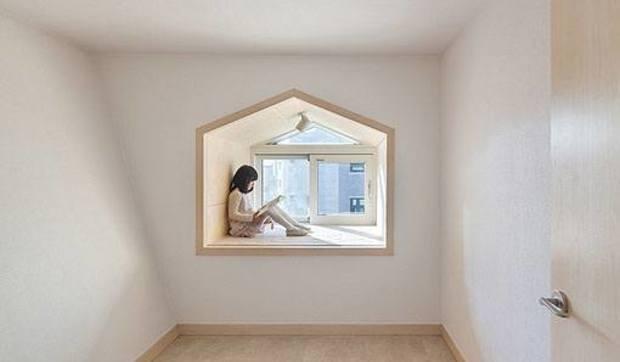 Asientos en las ventanas. 7 ejemplos de cómo aprovechar este espacio