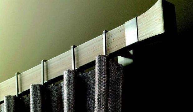 Barras de cortina anillas ollaos o rieles - Barras de cortina leroy merlin ...