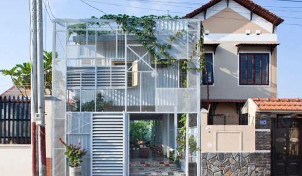 Casa pequeña low-cost en Vietnam