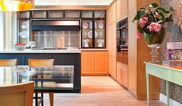 Cocina, comedor y salón: un espacio clásico y a la vez ...