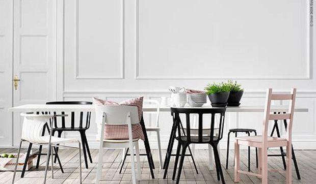 Cómo combinar la mesa y las sillas del comedor