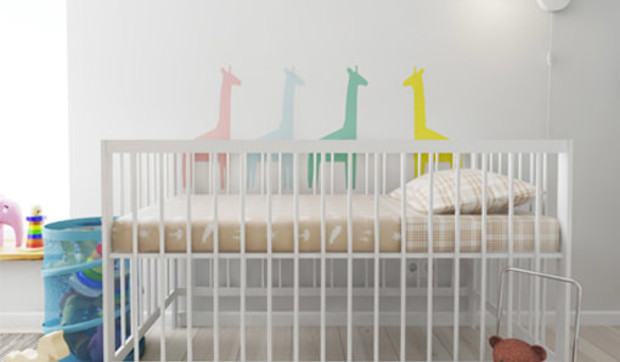 Cómo decorar una habitación de bebé con poco presupuesto