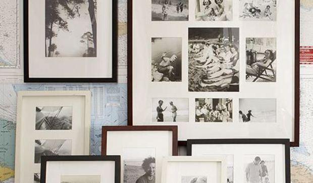Cómo decorar la pared con cuadros, fotos, platos, espejos, etc