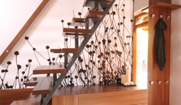 Ideas Originales Para Decorar La Escalera - Decoracion-de-escaleras