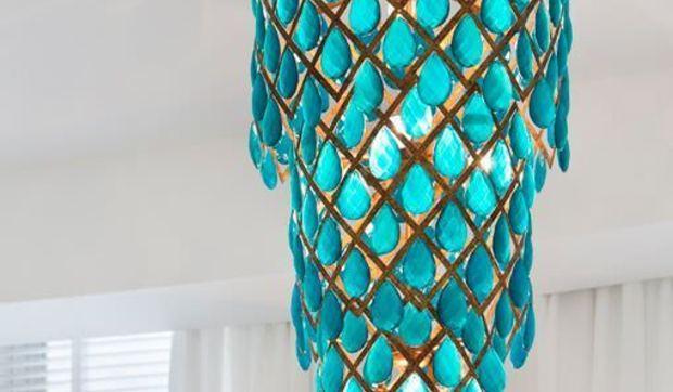 Lámparas de techo esculturales