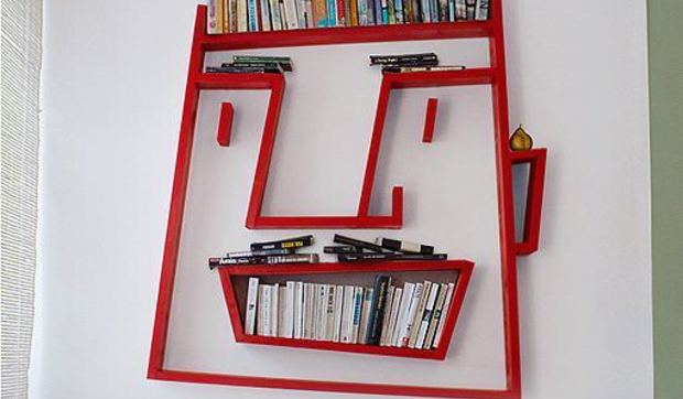 Librer a para decoraciones divertidas - Librerias para despacho decoracion ...