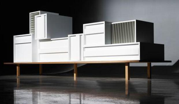 Mueble de pared modular - Muebles inteligentes ...