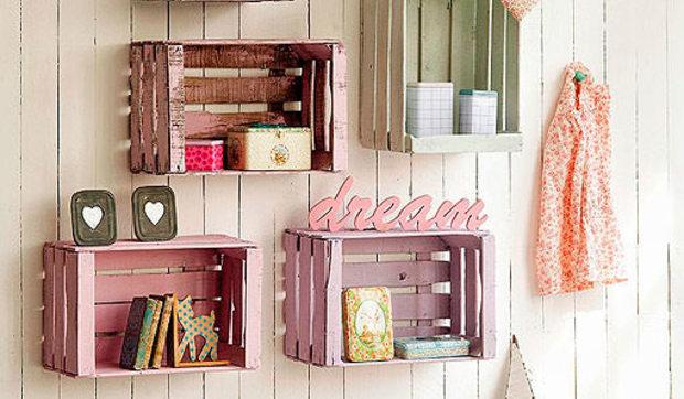 Diy en un trix crea tus muebles con cajas de madera - Manualidades con cajas de madera ...