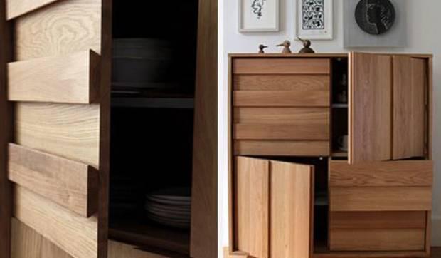 Muebles de madera para el comedor
