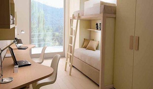 Muebles modulares para habitaciones juveniles for Muebles para piezas pequenas