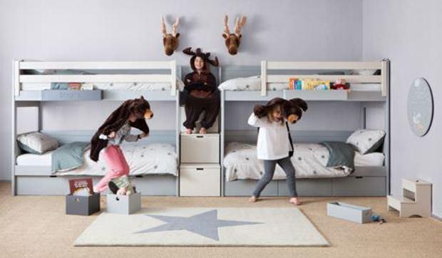 Muebles modulares infantiles y juveniles de colores pastel for Muebles modulares juveniles