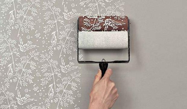 Rodillos Para Pintar Las Paredes Con Textura - Pintar-y-decorar-paredes