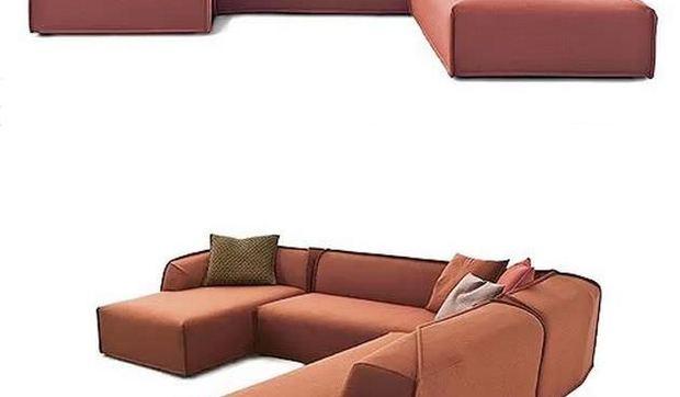 Sofá modular Massas, un nuevo diseño de Patricia Urquiola